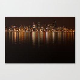 City of Night   Canvas Print