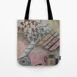 While On Vacation Tote Bag