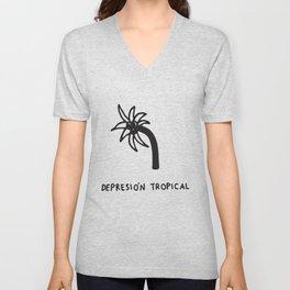 Depresión Tropical Unisex V-Neck
