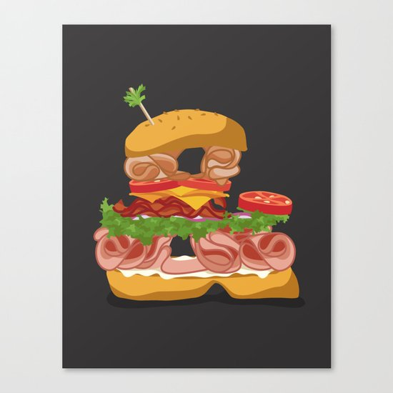 Ampersandwich Canvas Print