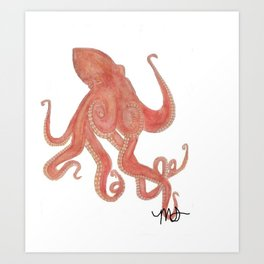 Sweet Octopus Art Print