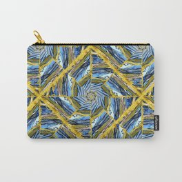 golden day kaleidoscope pattern Carry-All Pouch