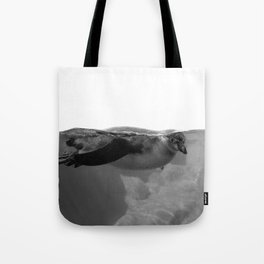 Black and White Penguin Tote Bag