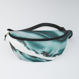 Turquoise Brown Agate #1 #gem #decor #art #society6 Fanny Pack