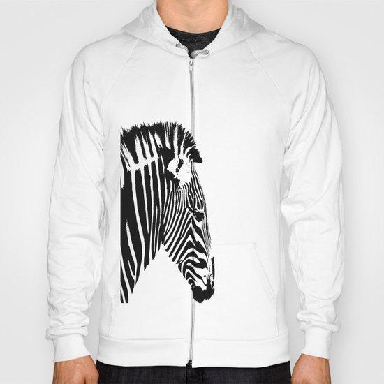 Zebra Portrait Hoody