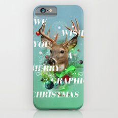 Merry Graphic christmas iPhone 6s Slim Case