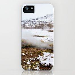 Geysir- Mist iPhone Case