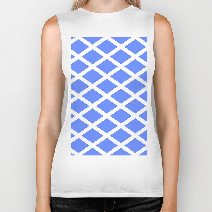 abstraction from the flag of scotland. Biker Tank