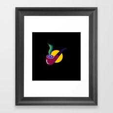 Pipe Framed Art Print