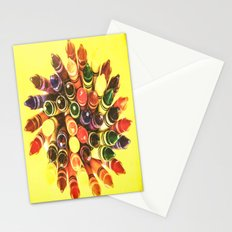 Crayon Love: Crayon Bouquet Stationery Cards