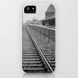 Winter Commute iPhone Case