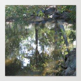 Gardens Impressionist Canvas Print