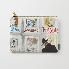The Art Collector Carry-All Pouch