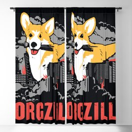 CORGZILLA Blackout Curtain