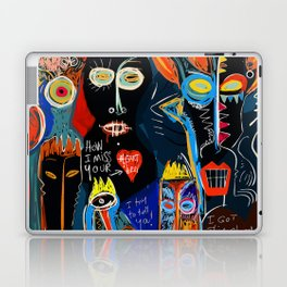 Street Art Graffiti Storm inside of me Laptop & iPad Skin