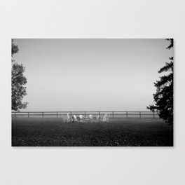 Another Misty Morning Canvas Print