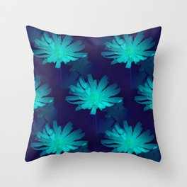 Flowers from the Sea... Throw Pillow