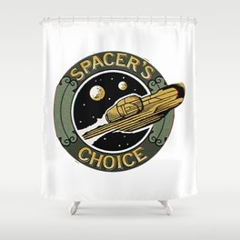 Spacers Choice Shower Curtain