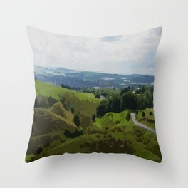 Rochdale View from Iron Waters2 Throw Pillow