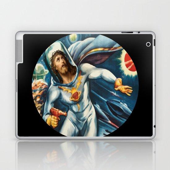 Spaceman Jesus Laptop & iPad Skin
