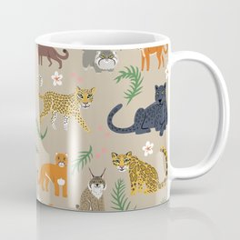 Exotic Cats Coffee Mug
