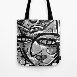 Wiggle Snickle Doodley Doo 1a by Kathy Morton Stanion Tote Bag