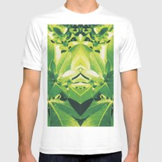 Botanical Mens Fitted Tee White MEDIUM