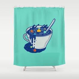 Galaxy Mug Shower Curtain