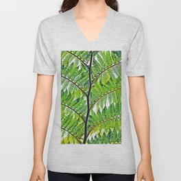 Second Exotc Tree Unisex V-Neck