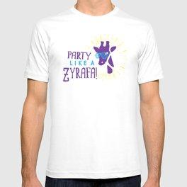 Party Like a Zyrafa! T-shirt