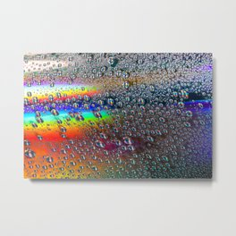 Juicy Rainbow Metal Print