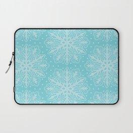 Winter Snowflakes Laptop Sleeve