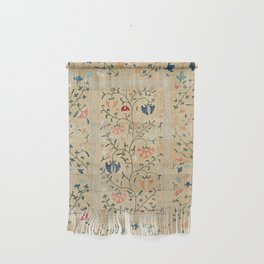 Uzbekistan Suzani Nim Embroidery Print Wall Hanging