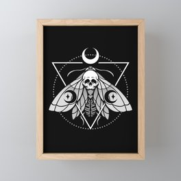 Mystic Moth Framed Mini Art Print