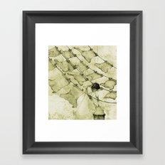 Salt of the earth Framed Art Print