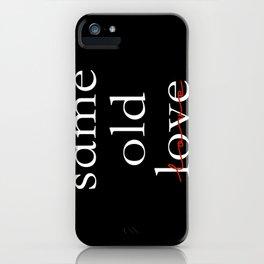 Same 1 iPhone Case