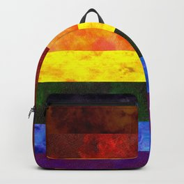 Inclusive Pride Flag Backpack