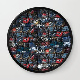 Demolition Wall Clock