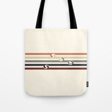 Vintage Beach Tote Bag
