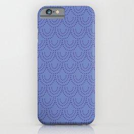 Periwinkle Scallops iPhone Case