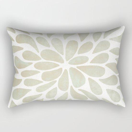 Petal Burst #3 Rectangular Pillow