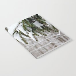 Snowy Tree Notebook