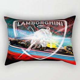 Lamborghini Blancpain Super Trofeo #2 Rectangular Pillow