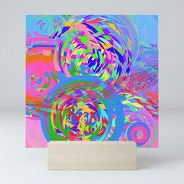 Collider Mini Art Print
