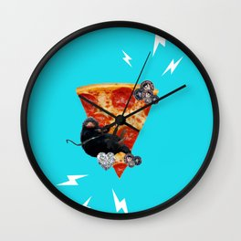 The Pizza Niffler. Wall Clock