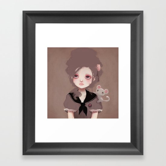 Emma (2011 version) Framed Art Print