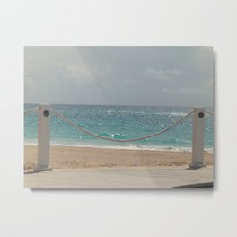Beautiful Bermuda Beach Metal Print