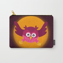 Circle Owl Carry-All Pouch