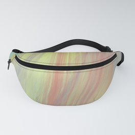 Retro Rainbow Series Three   80s Inspired Painting, vintage aesthetic wall art Fanny Pack