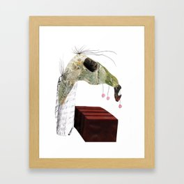 Jumping Horse Framed Art Print